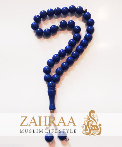 Prayer Beads 33 Perals Royal Blue