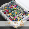 Pins Small 200 Pieces Multicoloured
