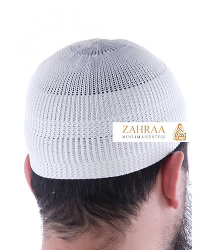 Prayer Cap Men White