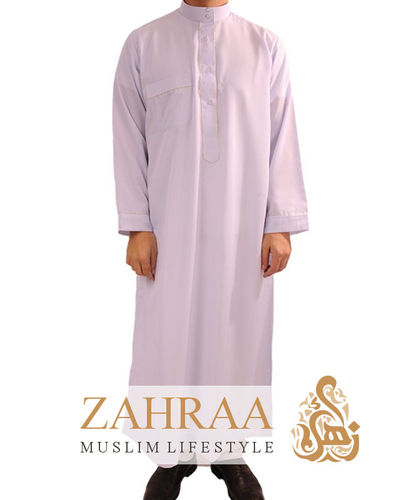 Qamis Men Longsleeve White