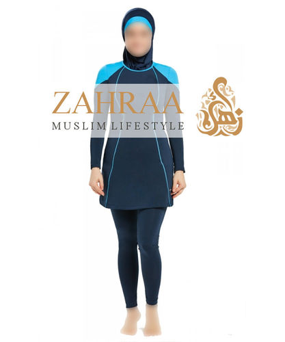 Teenager-Burkini Neyla Blau