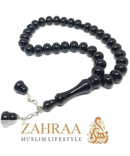 Prayer Beads 33 Pearls Black