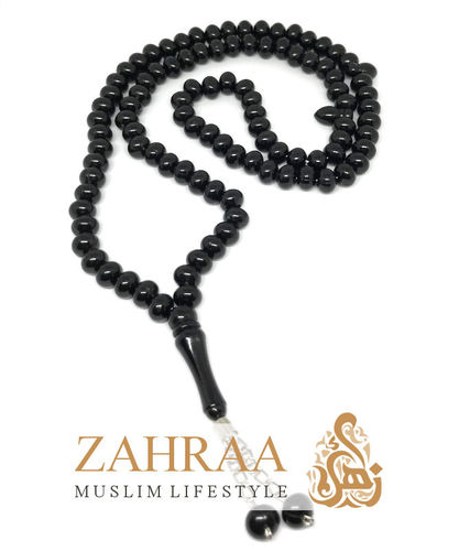 Prayer Beads 99 Pearls Black