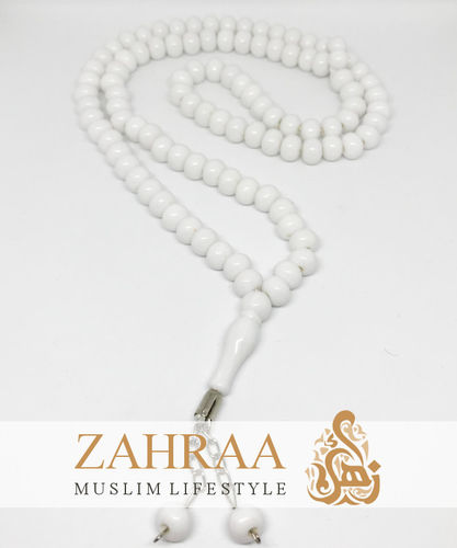 Prayer Beads 99 Pearls White