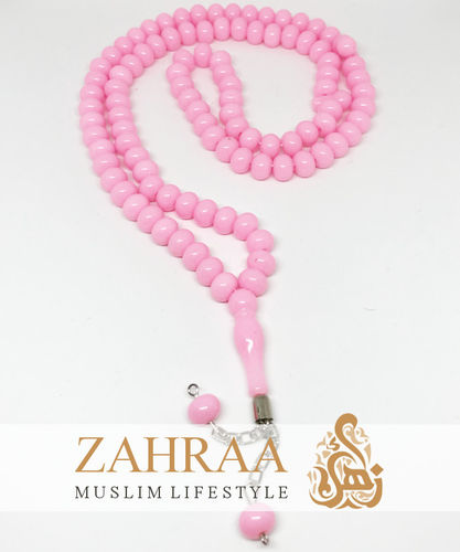 Prayer Beads 99 Pearls Light Pink