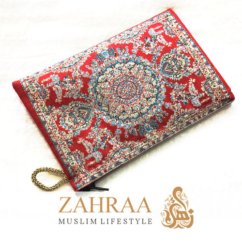 Fabric pouch Red