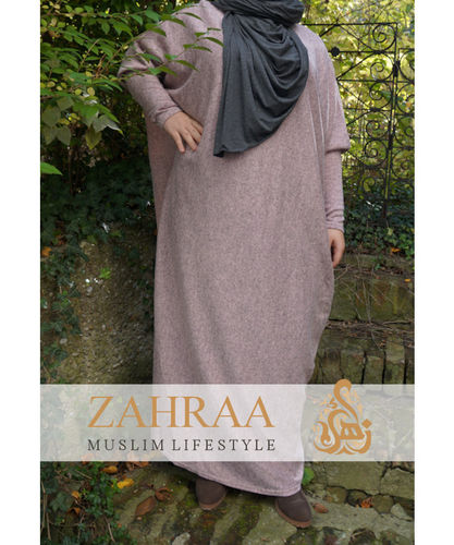 Abaya Kleid Lina Winter Rosa