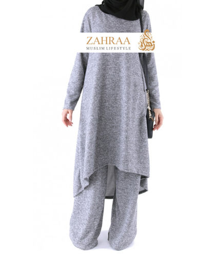 Winter Suit 2-Piece Light Grey