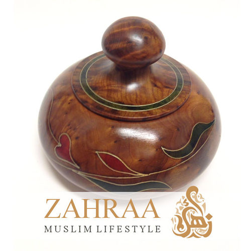 Moroccan Wooden Box 16