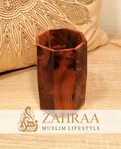 Moroccan Wood Pens Holder 1