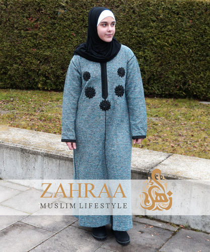 Djellaba Marokko Winter Blume L/XL