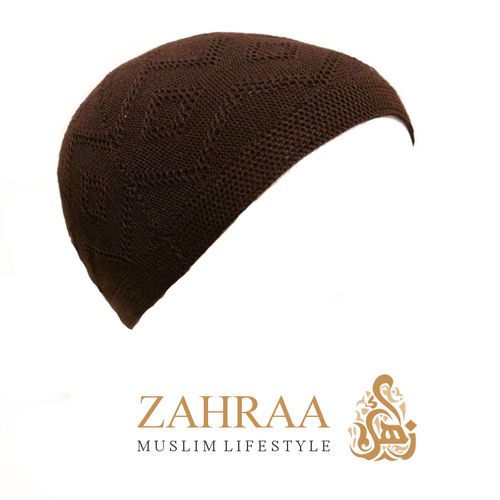 Prayer Cap Men Brown
