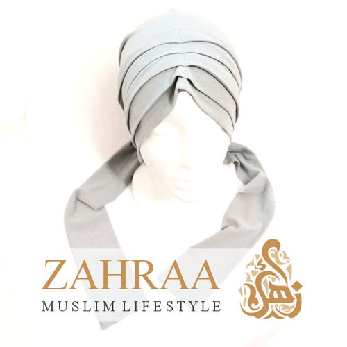 Turban Mira Light Grey
