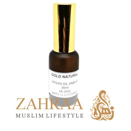 Argan Oil 30ml With Amber