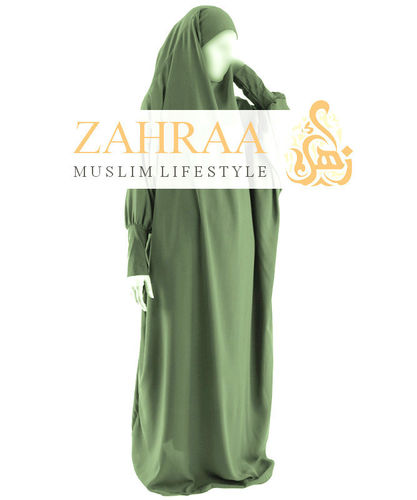 Khimar Hawa One-Piece Olive Green