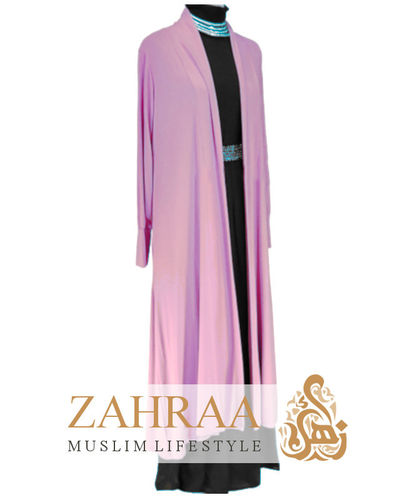 Long Cardigan Zartrosa