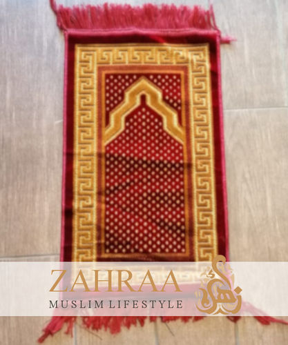 Prayer Mat Kids Red