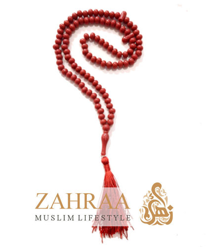Prayer Beads 99 Pearls Red