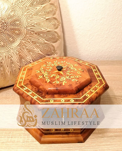 Moroccan Wooden Box 21
