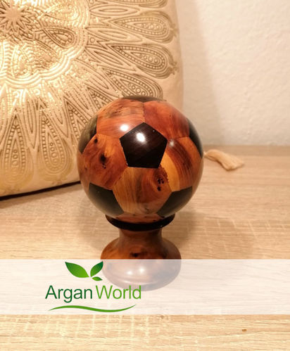 Arar Moroccan Wood Football Middle