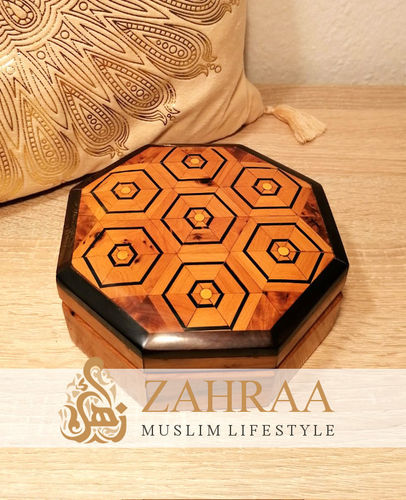 Moroccan Wooden Box 23