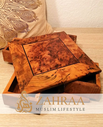 Moroccan Wooden Rotary Box Large