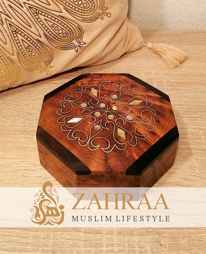 Moroccan Wooden Box 24