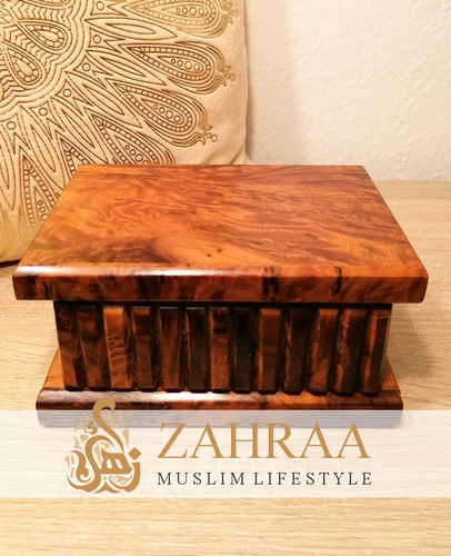Moroccan Wooden Secret Box