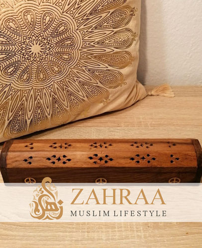 Moroccan Wooden Incense Sticks Box 2