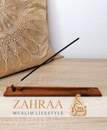 Incense Holder With Flap