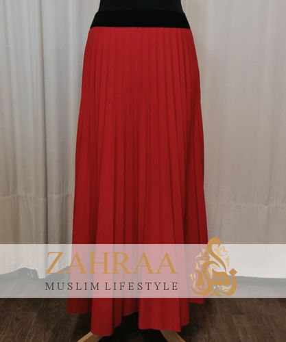 Skirt Plissee Marilyn Red