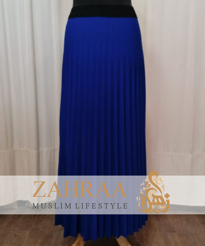 Skirt Plissee Marilyn Royal Blue