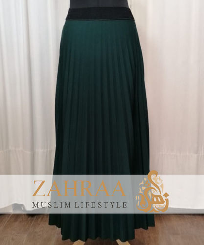 Skirt Plissee Marilyn Dark Green