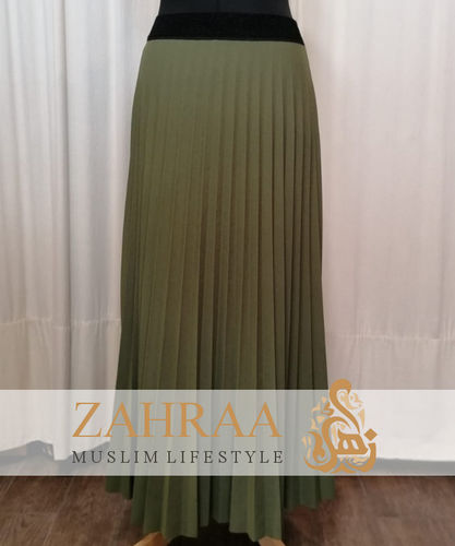 Skirt Plissee Marilyn Olive Green