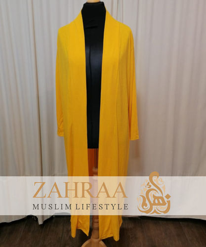 Long Cardigan Khafifa Yellow