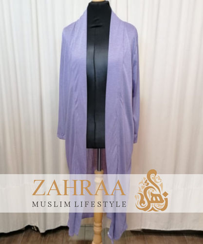 Long Cardigan Khafifa Lilac