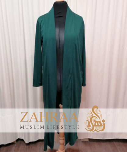 Long Cardigan Khafifa Dark Green