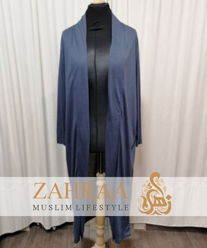 Long Cardigan Khafifa Dark Jeans