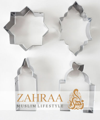 Islamic Cookie Cutters (4 Pieces)